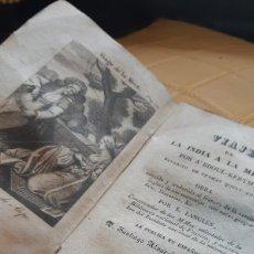 Libros de segunda mano: LIBRO VIAJE DE LA INDIA A LA MECA [A'BDOUL-KERYM].TOMÁS JORDAN MADRID. TRADUCCIÓN AL ESPAÑOL 1833. Lote 199036796