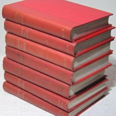 Libros de segunda mano: 213 FASCÍCULOS DE CAMINOS DE ESPAÑA, ENCUADERNADOS EN 8 TOMOS. FASCÍCULOS 1 AL 213. Lote 199089960
