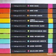 Libros de segunda mano: TOT CATALUNYA DE LA A A LA Z GUIES 10 NÚMEROS (CATALÀ). Lote 199710428