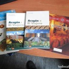 Libros de segunda mano: ARAGON GUIAS 4 TOMOS NUEVOS LAS GUIAS VISUALES DE ESPAÑA ARAGON. Lote 199750198