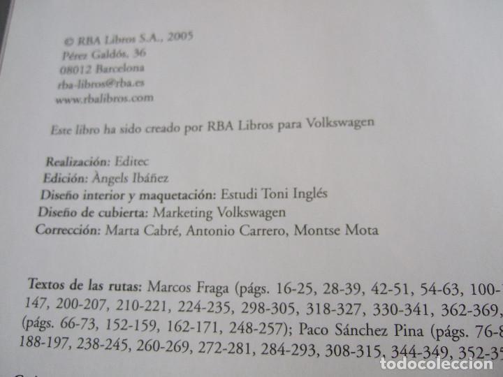 Libros de segunda mano: RUTAS HISTORICO ARTISTICAS POR ESPAÑA - TAVELLING VOLKSWAGEN - NATIONAL GEOGRAPHIC - +- 500 PAGINAS - Foto 5 - 199788560