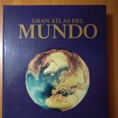 Libros de segunda mano: GRAN ATLAS DEL MUNDO. GRANDES DIMENSIONES. Lote 199981805