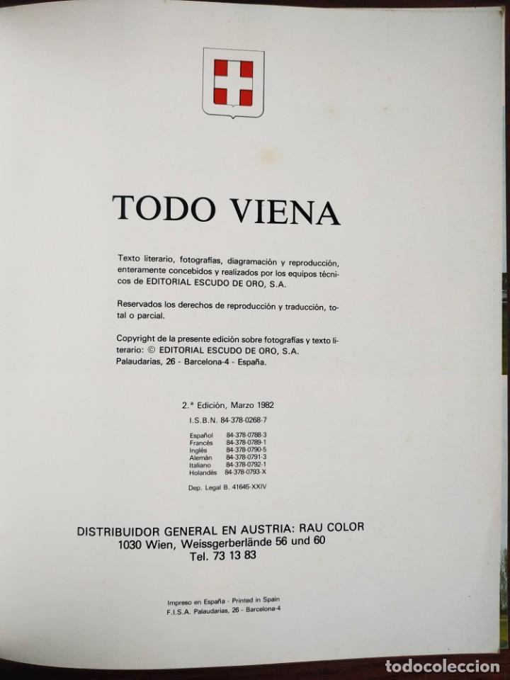 Libros de segunda mano: Todo Viena. Un completo repaso a todo el país que retratan la idiosincrasia del pais austriaco - Foto 2 - 200877416
