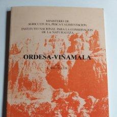 Livros em segunda mão: ORDESA VIÑAMALA .E. BALCELLS . RESERVA DE LA BIOSFERA . HUESCA. Lote 201340885