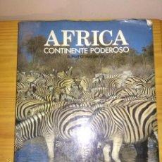 Libros de segunda mano: LIB CONTINENTE AFRICA.. Lote 202326148