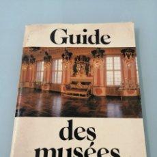 Libros de segunda mano: GUIDE DES MUSÉES. BERLIN. 1985. PRESENTA LOS MUSEOS, SÓLO, DE BERLÍN ORIENTAL. MUY CURIOSO.. Lote 202533427