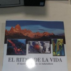 Libros de segunda mano: EL RITMO DE LA VIDA: EL FACTOR TIEMPO EN LA NATURALEZA - LIBRO GRAN FORMATO *IMPECABLE*. Lote 183926365