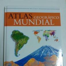 Libros de segunda mano: ATLAS GEOGRÁFICO MUNDIAL AÑO 2907. Lote 202821650