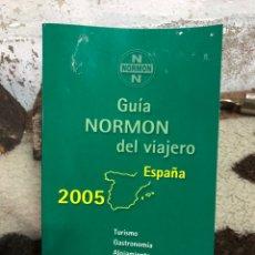 Libros de segunda mano: GUÍA NORMON DEL VIAJERO. Lote 204647756