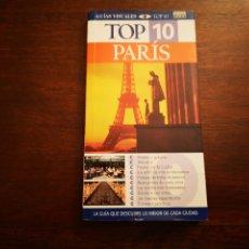 Libros de segunda mano: PARÍS. GUÍAS VISUALES TOP 10. EL PAÍS AGUILAR. Lote 204720615