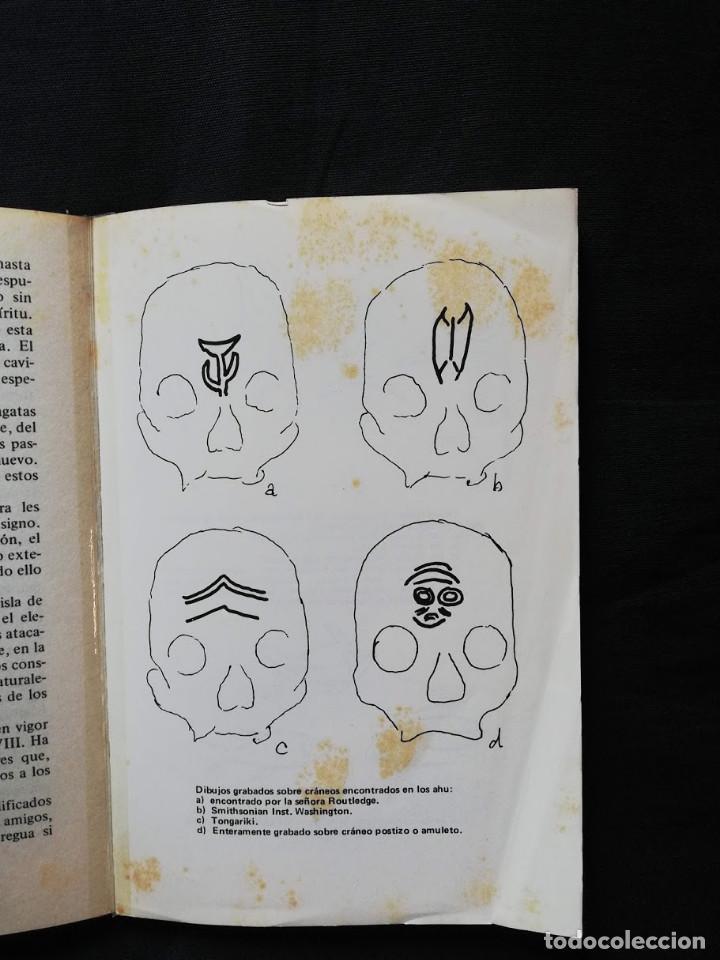 Libros de segunda mano: LA VERDAD SOBRE LA ISLA DE PASCUA - MAURICE & PAULETTE DERIBERE - Foto 3 - 205158772