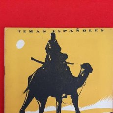 Libros de segunda mano: REVISTA COLECCION TEMAS ESPAÑOLES EL SAHARA ESPAÑOL ORIGINAL. Lote 205572377