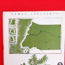 Libros de segunda mano: REVISTA COLECCION TEMAS ESPAÑOLES LA GUINEA ESPAÑOLA ORIGINAL. Lote 205572443