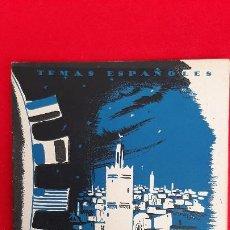 Libros de segunda mano: REVISTA COLECCION TEMAS ESPAÑOLES TANGER ORIGINAL. Lote 205572487