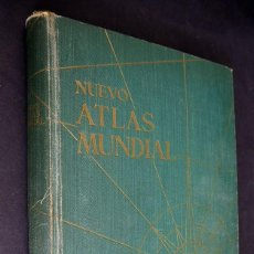 Libros de segunda mano: NUEVO ATLAS MUNDIAL.AGUILAR.MADRID 1958.. Lote 205707426