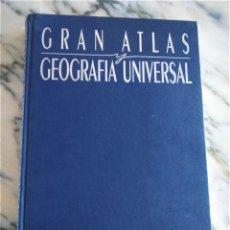 Libros de segunda mano: GRAN ATLAS Y GEOGRAFIA UNIVERSAL -- EDICIONES OLIMPIO 1994 --. Lote 205838766