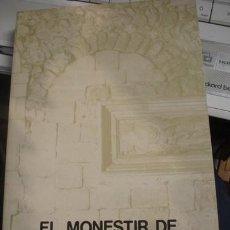 Libros de segunda mano: EL MONESTIR DE SANT CUGAT DEL VALLES - JORDI AMBROS I MONSONIS. Lote 206217857