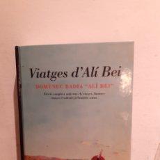 Libros de segunda mano: VIATGES D'ALÍ BEI. Lote 206228037