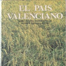 Libros de segunda mano: EL PAIS VALENCIANO - V.V.A.A. - ANAYA EDITORIAL 1980 / ILUSTRADO. Lote 206427148