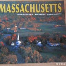 Libros de segunda mano: LIBRO MASSACHUSETTS IMPRESSIONS PAUL REZENDES. Lote 206515656