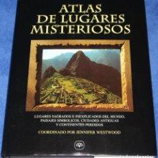 Libros de segunda mano: ATLAS DE LUGARES MISTERIOSOS - MAPHRE (1997) ¡IMPECABLE!. Lote 206811147