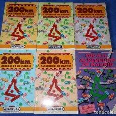 Libros de segunda mano: 200 KM. ALREDEDOR DE MADRID - NACIONALES I, II, III, IV, V Y VI - JOSE MARÍA FERRER - LA LIBRERÍA. Lote 206813832