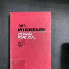 Libros de segunda mano: ESPAÑA PORTUGAL. MICHELIN 1989. FRANCIA, 1989. GUIA. VER. Lote 206983743