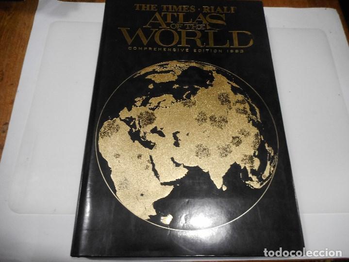 THE TIMES RIALP ATLAS OF THE WORLD Q876W (Libros de Segunda Mano - Geografía y Viajes)