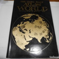 Libros de segunda mano: THE TIMES RIALP ATLAS OF THE WORLD Q876W. Lote 207071320