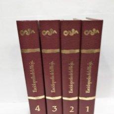 Libros de segunda mano: ENCICLOPEDIA DE LA RIOJA 1983 4 TOMOS ED HESA. BUEN ESTADO. Lote 207175035