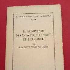 Libros de segunda mano: 1959 EL MONUMENTO DEL VALLE DE LOS CAIDOS. Lote 207420605