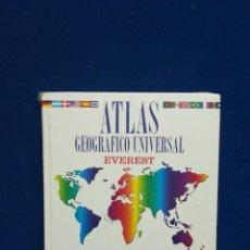 Libros de segunda mano: ATLAS GEOGRÁFICO UNIVERSAL, EVEREST, 2002. Lote 207980698