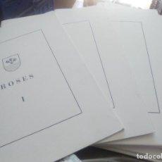 Livros em segunda mão: ELS POBLES DE L'ALT EMPORDA, ROSES, EJEMPL 208, TEXTO EN CATALAN. Lote 208037422