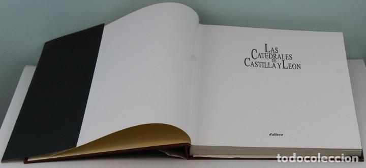 Libros de segunda mano: Las catedrales de Castilla-León,Edita Junta de Castilla-León/Edilesa,1992.Primera edición lujo. - Foto 2 - 208472331