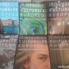Libros de segunda mano: ITINERARIO CULTURAL EUROPEO //6 TOMOS +DVD GUIA DE CONSULTA. Lote 209028881