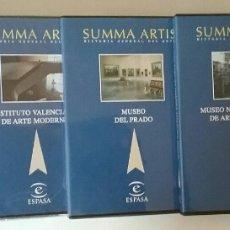 Livros em segunda mão: SUMMA ARTIS HISTORIA GENERAL DEL ARTE ESPASA 6 DVD`S. Lote 209359486