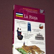 Libros de segunda mano: LA RIOJA.. LAS GUÍAS VISUALES DE ESPAÑA, Nº 5. FOTOGRAFÍAS, MAPAS, RUTAS. VER MÁS. 2000. Lote 209367015