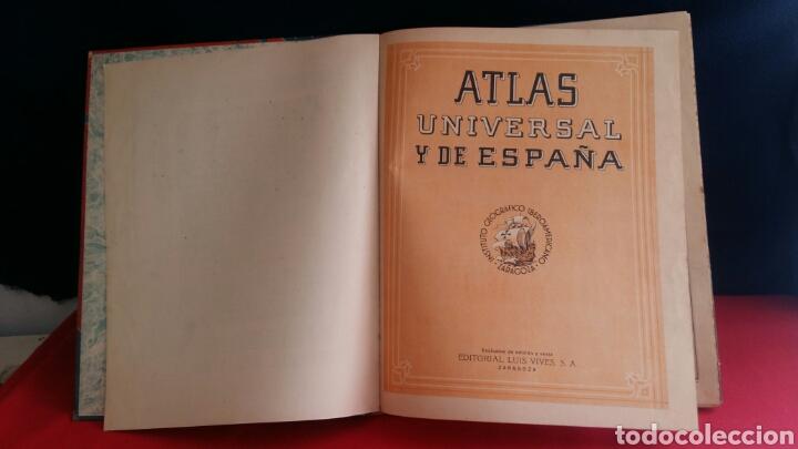 Libros de segunda mano: LIBRO ATLAS UNIVERSAL Y DE ESPAÑA EDELVIVES - Foto 2 - 209586973