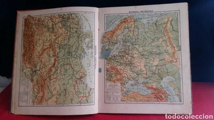 Libros de segunda mano: LIBRO ATLAS UNIVERSAL Y DE ESPAÑA EDELVIVES - Foto 4 - 209586973