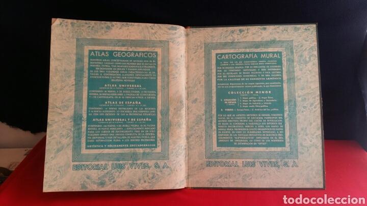 Libros de segunda mano: LIBRO ATLAS UNIVERSAL Y DE ESPAÑA EDELVIVES - Foto 7 - 209586973