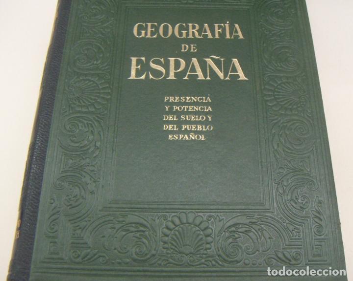 Libros de segunda mano: GEOGRAFIA DE ESPAÑA - 4 TOMOS - EDI GALLACH 1955 PERFECTOS - Foto 2 - 209601426