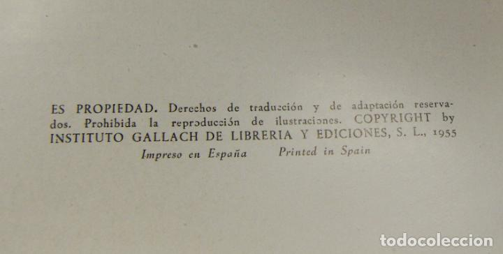 Libros de segunda mano: GEOGRAFIA DE ESPAÑA - 4 TOMOS - EDI GALLACH 1955 PERFECTOS - Foto 6 - 209601426