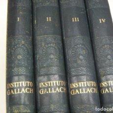 Libros de segunda mano: GEOGRAFIA DE ESPAÑA - 4 TOMOS - EDI GALLACH 1955 PERFECTOS. Lote 209601426