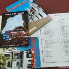 Libros de segunda mano: LOT MENORCA , MAPA MENORCA 1976 , MENORCA 1983 2ª EDICIÓ I COVA D'EN XOROI - GV1. Lote 209743653