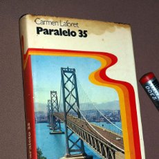 Libros de segunda mano: PARALELO 35. CARMEN LAFORET. ED. PLANETA 1976. ILUSTRADO VER ÍNDICE. NORTEAMÉRICA. Lote 209950571