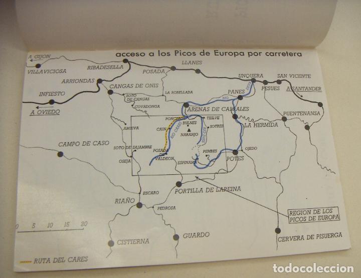 Libros de segunda mano: Picos de Europa. Ruta del Cares - Foto 2 - 210184486