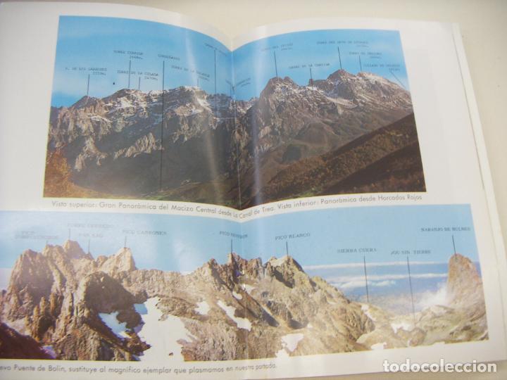 Libros de segunda mano: Picos de Europa. Ruta del Cares - Foto 3 - 210184486