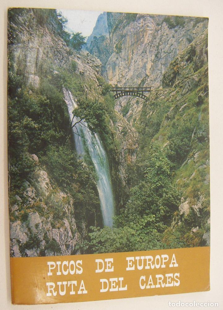 PICOS DE EUROPA. RUTA DEL CARES (Libros de Segunda Mano - Geografía y Viajes)