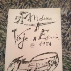 Libros de segunda mano: FANZINE - VIAJE A ESCOCIA 1981 - VER FOTOS. Lote 210615792