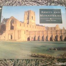 Libros de segunda mano: ABBEYS AND MONASTERIES - ABADIAS Y MONASTERIOS DE ESCOCIA - EN INGLES. Lote 210617491